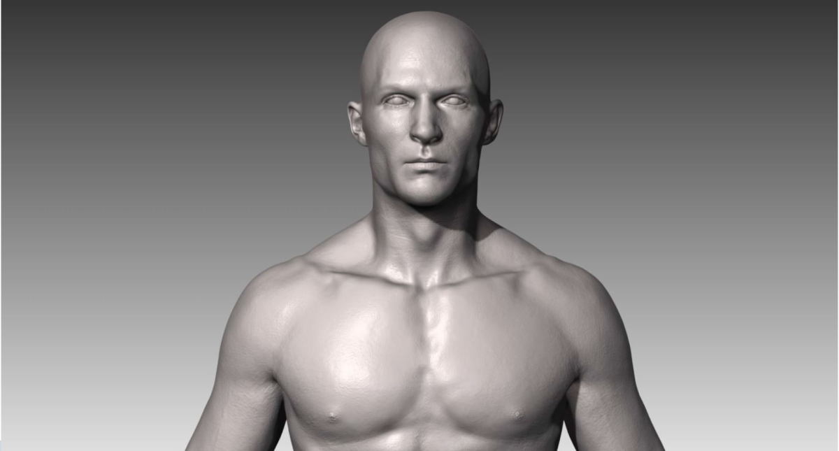 Realistic White Male and Female Bundle 3D model - Model 3D Download For Free