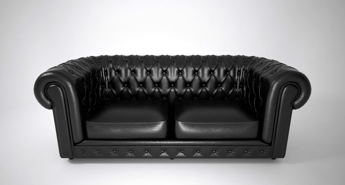 Leather Sofa Double 3d Model - Model 3D Download For Free