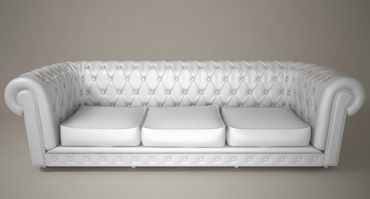 Leather Sofa 3d Model - Model 3D Download For Free