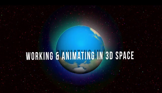 3D in After Effects CC: Working & Animating in 3D Space - After Effect Tutorials
