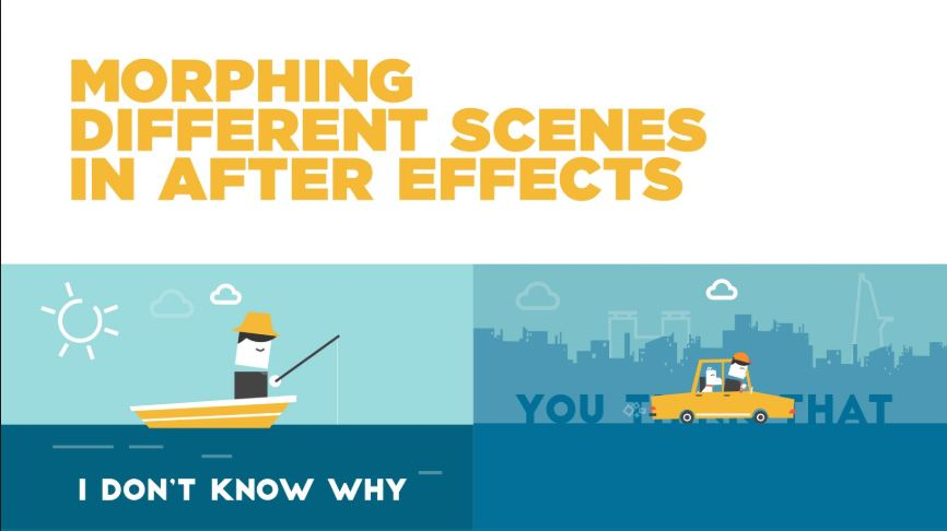 Morphing 2 different scenes in After Effects - After Effect Tutorials