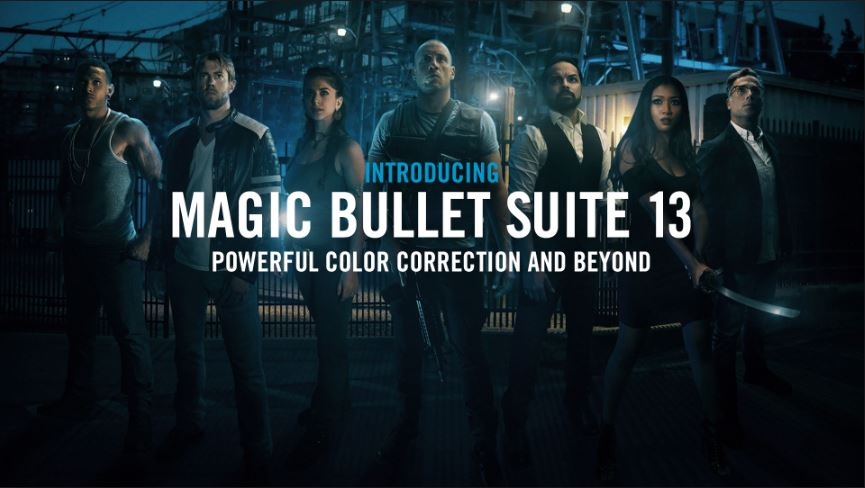 Red Giant Magic Bullet Suite 13 (WIN/MAC) - Script, Plugin For After Effect