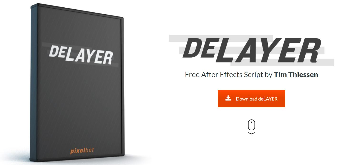 deLAYER - Script, Plugin For After Effect