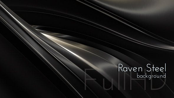 Videohive 18337798 - Raven Steel Background - Motion Graphics - Footage