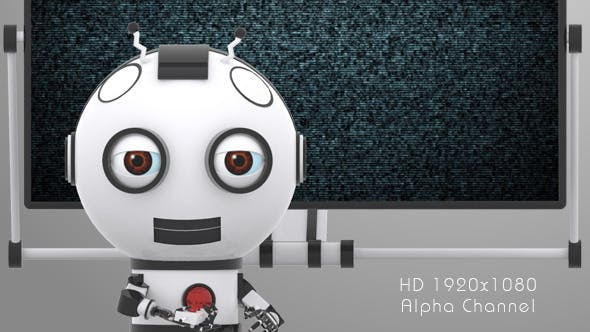 Videohive 9923682 - Robot SS2 - Presentation - Motion Graphic - Footage