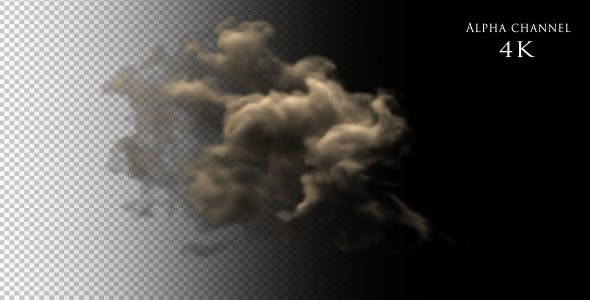 Videohive 12120121 - Dust Explosion - Motion Graphic - Footage