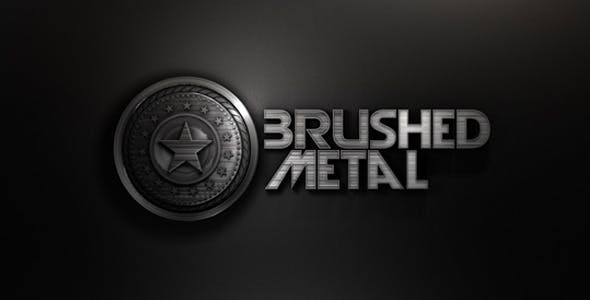 Videohive 8748761 - Abstract Brushed Metal - Motion Graphics - Footage