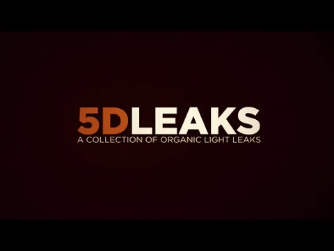 5DLEAKS: A Collection of Organic Light Leaks - Footage