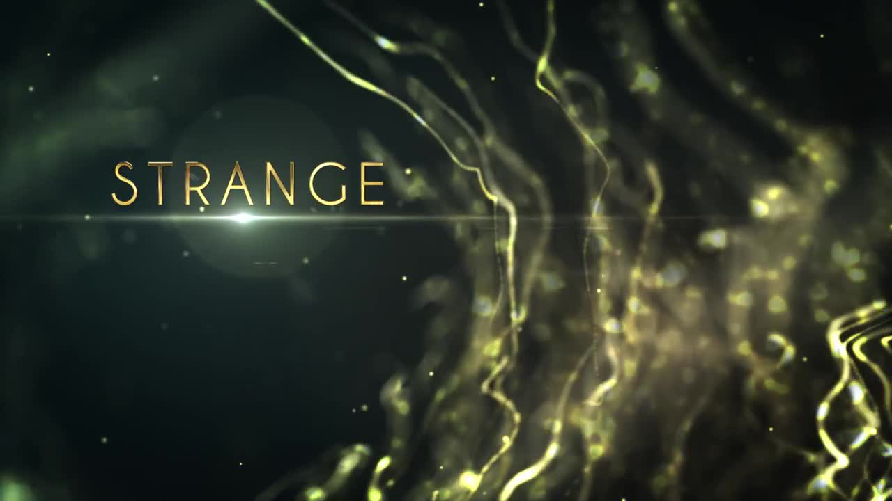 Mystical Particles Titles - After Effects 247001 - Footage