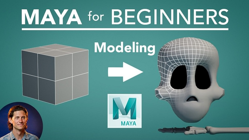 Maya for Beginners: 3D Modeling - Maya Tutorials