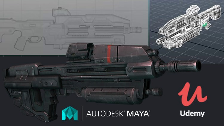 MAYA MASTER CLASSES : Asset Modeling for Game & Animation - Maya Tutorials