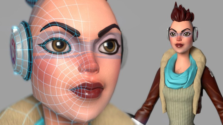 Character Modeling & Texturing For Game – Complete Pipeline - Maya Tutorials
