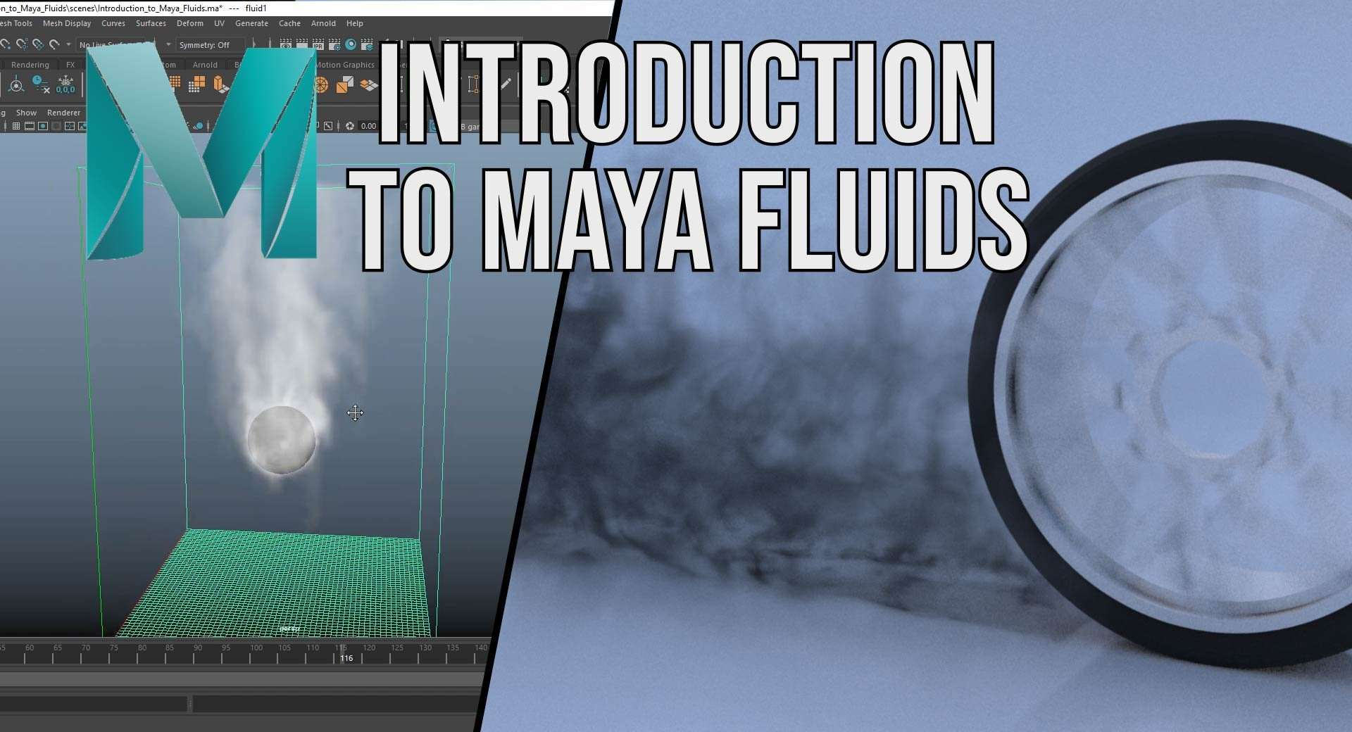 Introduction to Maya Fluids – 2018 - Maya Tutorials