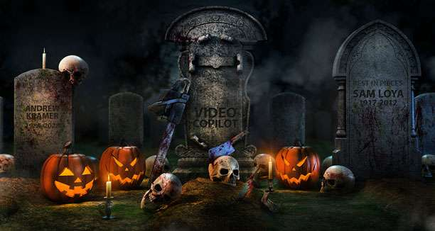Halloween 3D Model Pack - Model 3D Download For Free