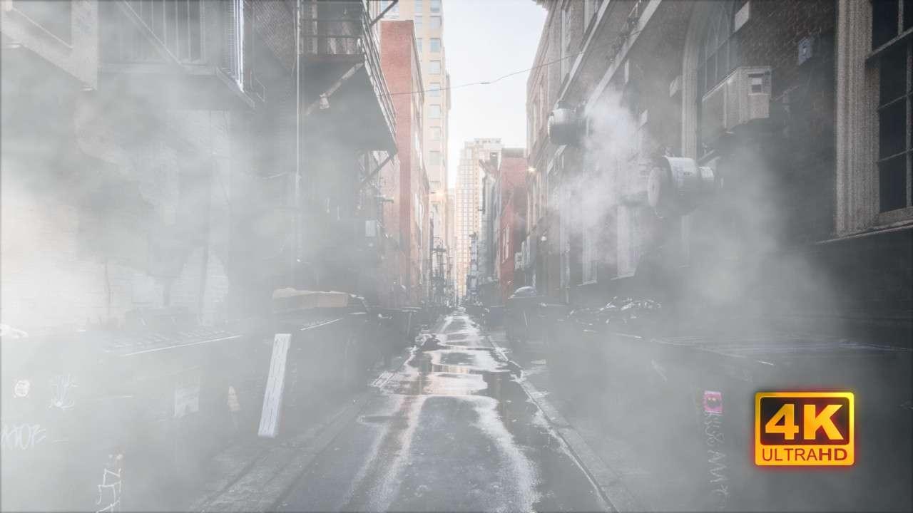 Filling Smoke 235687 - Footage