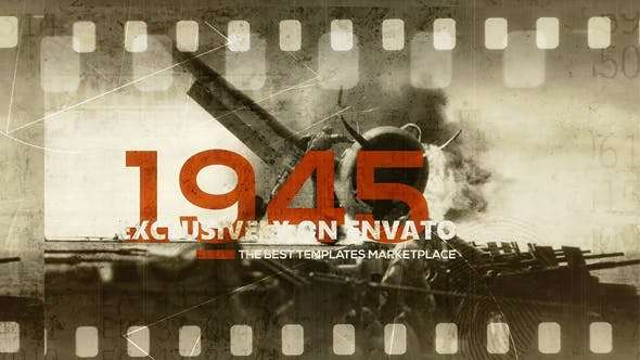 Videohive 18248223 - 1945 History Opener - After Effect Template