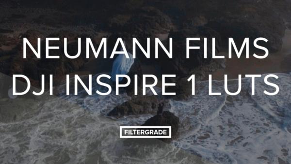 Neumann Films DJI Inspire 1 LUTs - Cinema & Film LUTS (Win/Mac) - LUTS MÀU ĐẸP