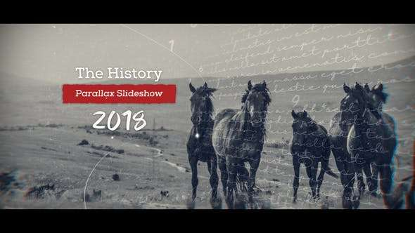 Videohive 21651802 - History Parallax Slideshow - After Effect Template