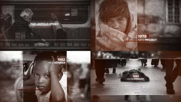 Videohive 21633379 - History Timeline - After Effect Template