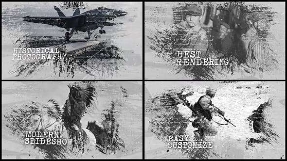 Videohive 20477094 - History Opener - After Effect Template