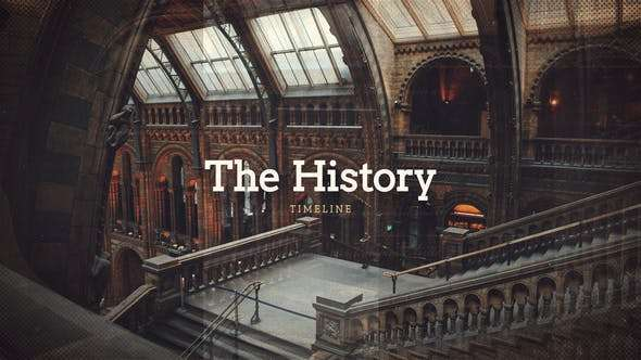 Videohive 22760542 - History Timeline - After Effect Template
