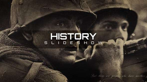 Videohive 20944715 - History Slideshow - After Effect Template