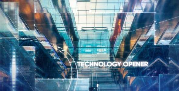Videohive 19354118 - Technology/Hi-tech Opener - After Effect Template