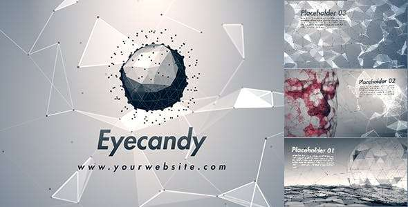 Videohive 15233449 - Plexus Technology Opener - After Effect Template