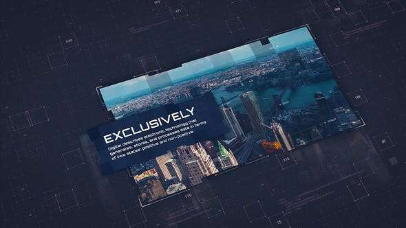 Videohive 23723624 - Digital Corporate Technology V.2 - After Effect Template