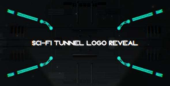 Videohive 18241416 - Sci-Fi Tunnel Logo Reveal - After Effect Template