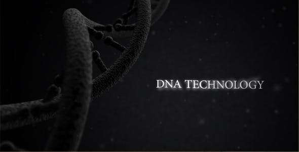 Videohive 5467205 - DNA Technology - After Effect Template