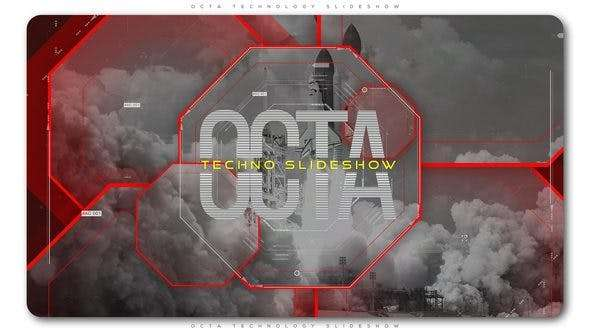 Videohive 21621721 - Octa Technology Slideshow | Opener - After Effect Template