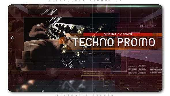 Videohive 20714194 - Technology Cinematic Promo - After Effect Template