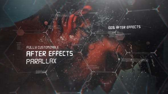 Videohive 21226207 - Digital Sci Fi Slideshow - After Effect Template