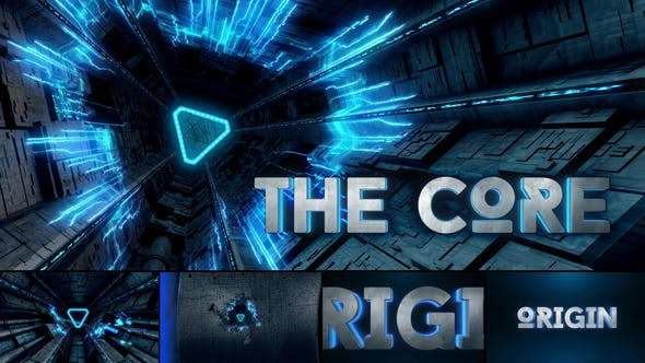 Videohive 20001253 - The Core - Cinematic Sci-Fi Logo Reveal - After Effect Template