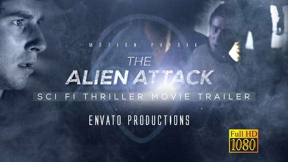 Videohive 24321306 - Sci Fi Thriller Movie Trailer - After Effect Template