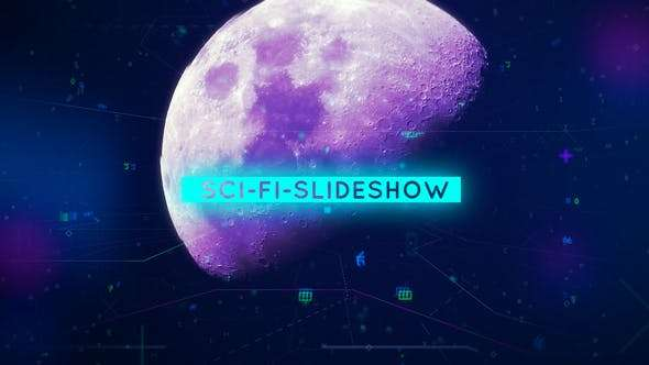 Videohive 19248824 - Sci-Fi-Slideshow - After Effect Template