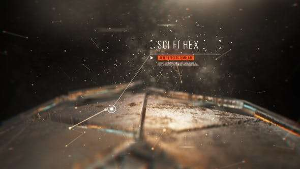 Videohive 21191383 - Sci Fi Hex - After Effect Template