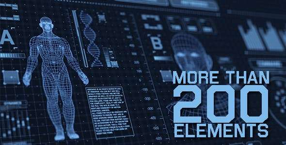 Videohive 8226307 - Sci-fi Interface HUD Package - After Effect Template