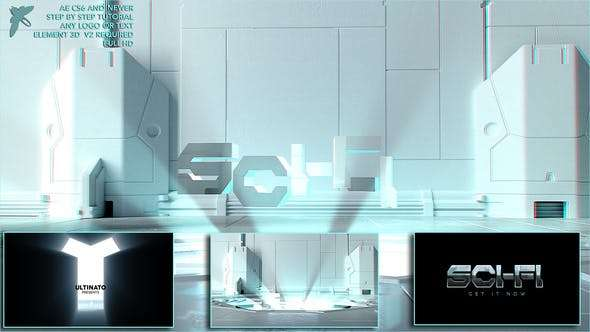 Videohive 23597524 - Sci-fi Logo - After Effect Template