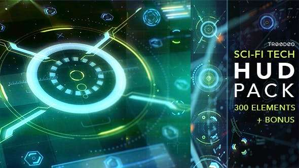 Videohive 18967517 - HUD Sci-Fi Infographic - After Effect Template