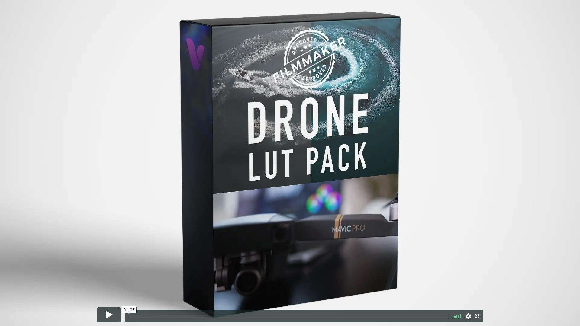 Vamify – Drone Luts – (Flycam) LUTs (Win/Mac) - LUTS MÀU ĐẸP