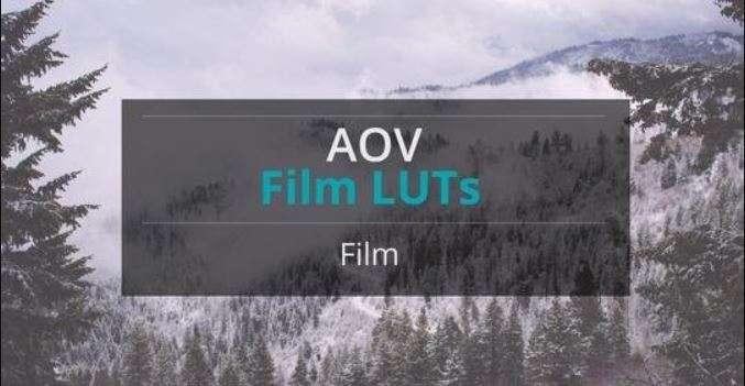 AOV Film LUTs Pack (Win/Mac) - LUTS MÀU ĐẸP