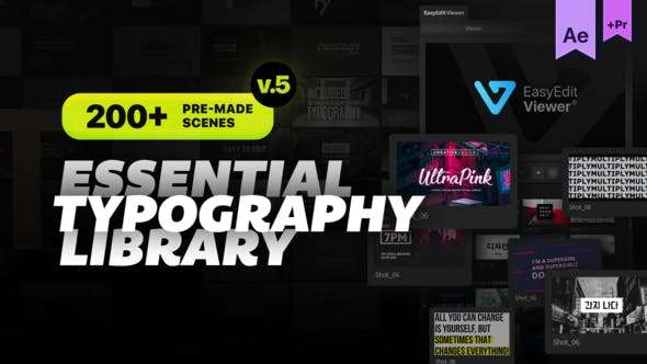 Videohive 20681372 - Essential Titles and Lower Thirds V5.2 - After Effect Template