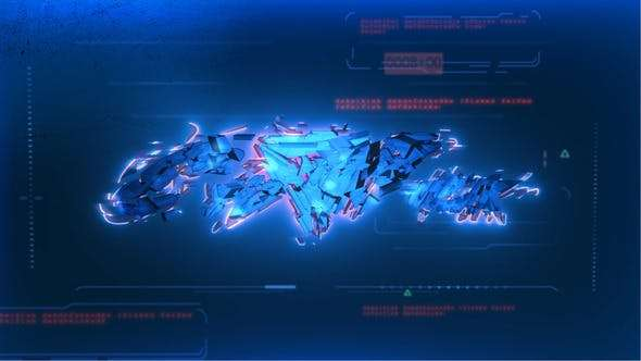 Videohive 22832135 - Cyberpunk Logo - After Effect Template