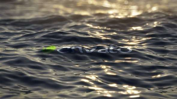 Videohive 13623328 - Ultra Realistic Ocean Logo - After Effect Template