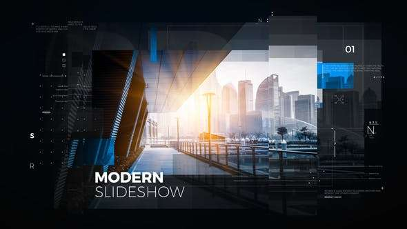 Videohive 22814713 - Modern Slideshow - After Effect Template