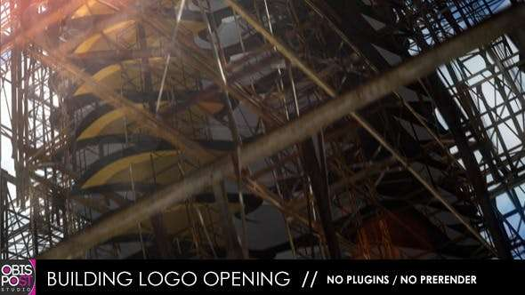 Videohive 4527396 - Building Logo Opening - After Effect Template