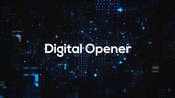 Videohive 24620538 - Digital Technology Opener - After Effect Template