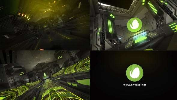 Videohive 24120506 - Future Room Opener - After Effect Template
